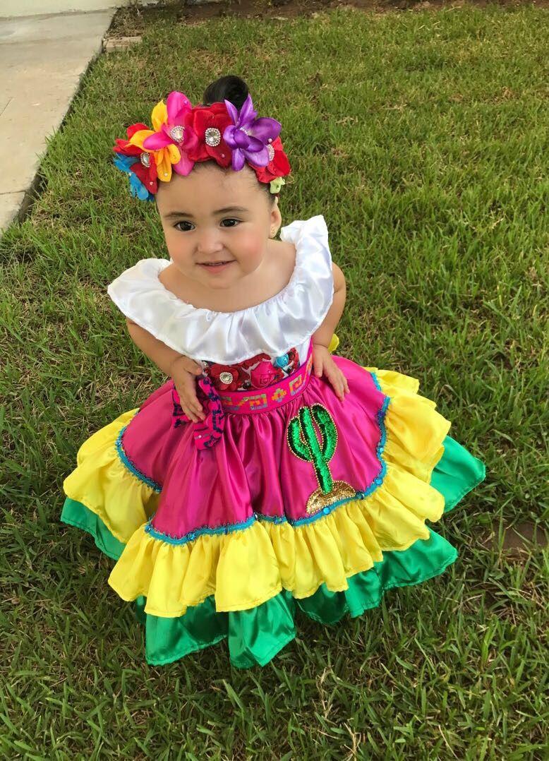 Flower Crown En 2019 Vestidos De Fiesta Mexicanos