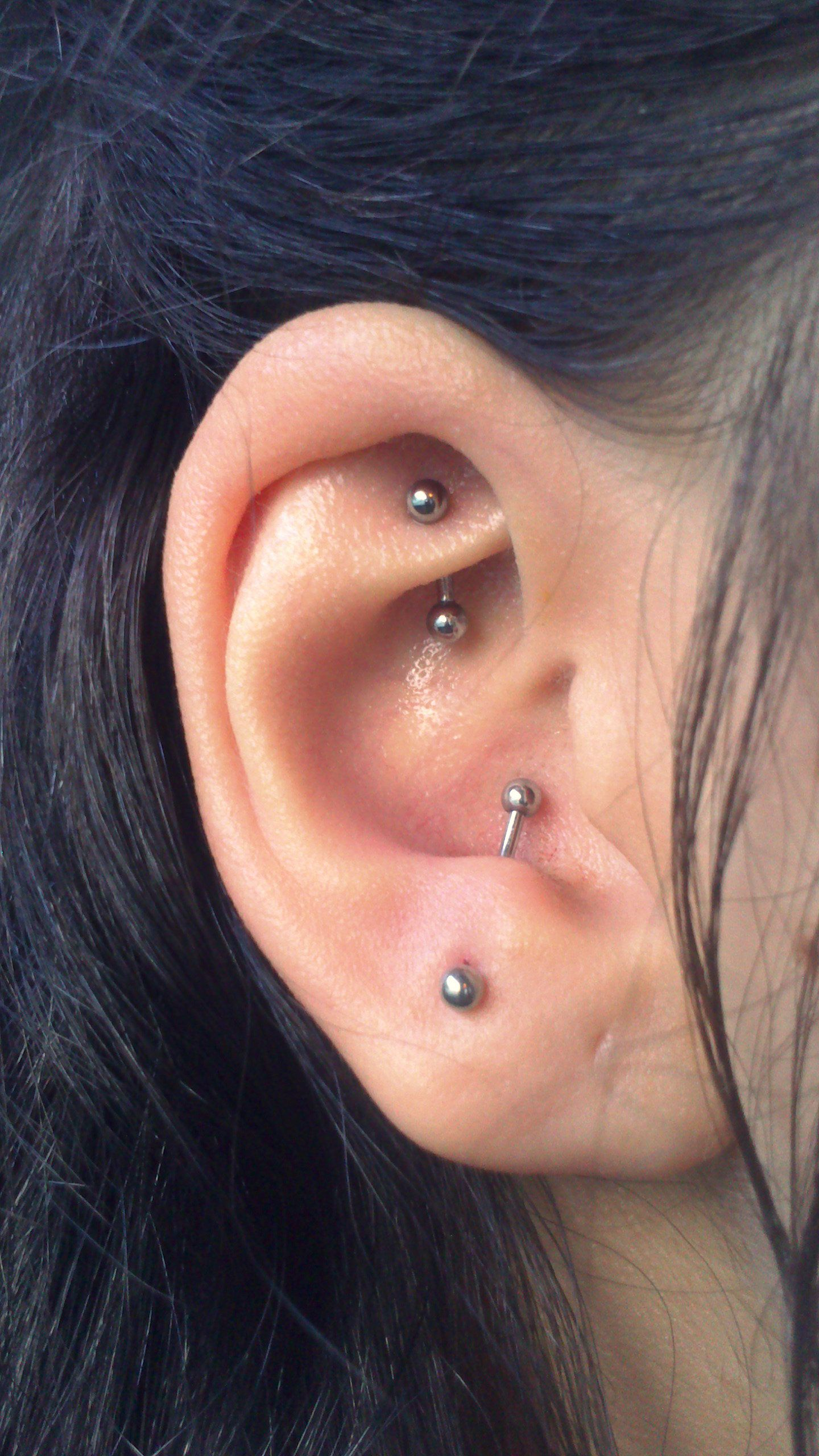 Nose piercing over 40  Antitragus and tragus piercings  Piercings  Pinterest  Tragus