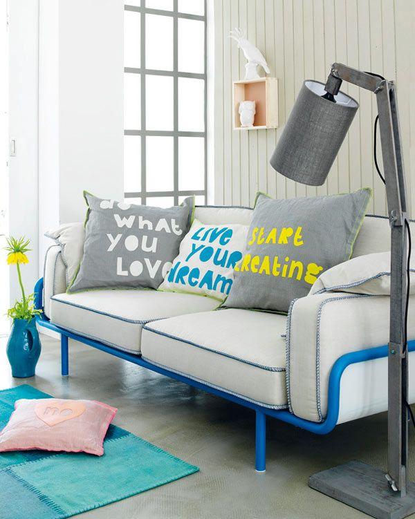 Arredamento low cost: arredare con i cuscini www ...