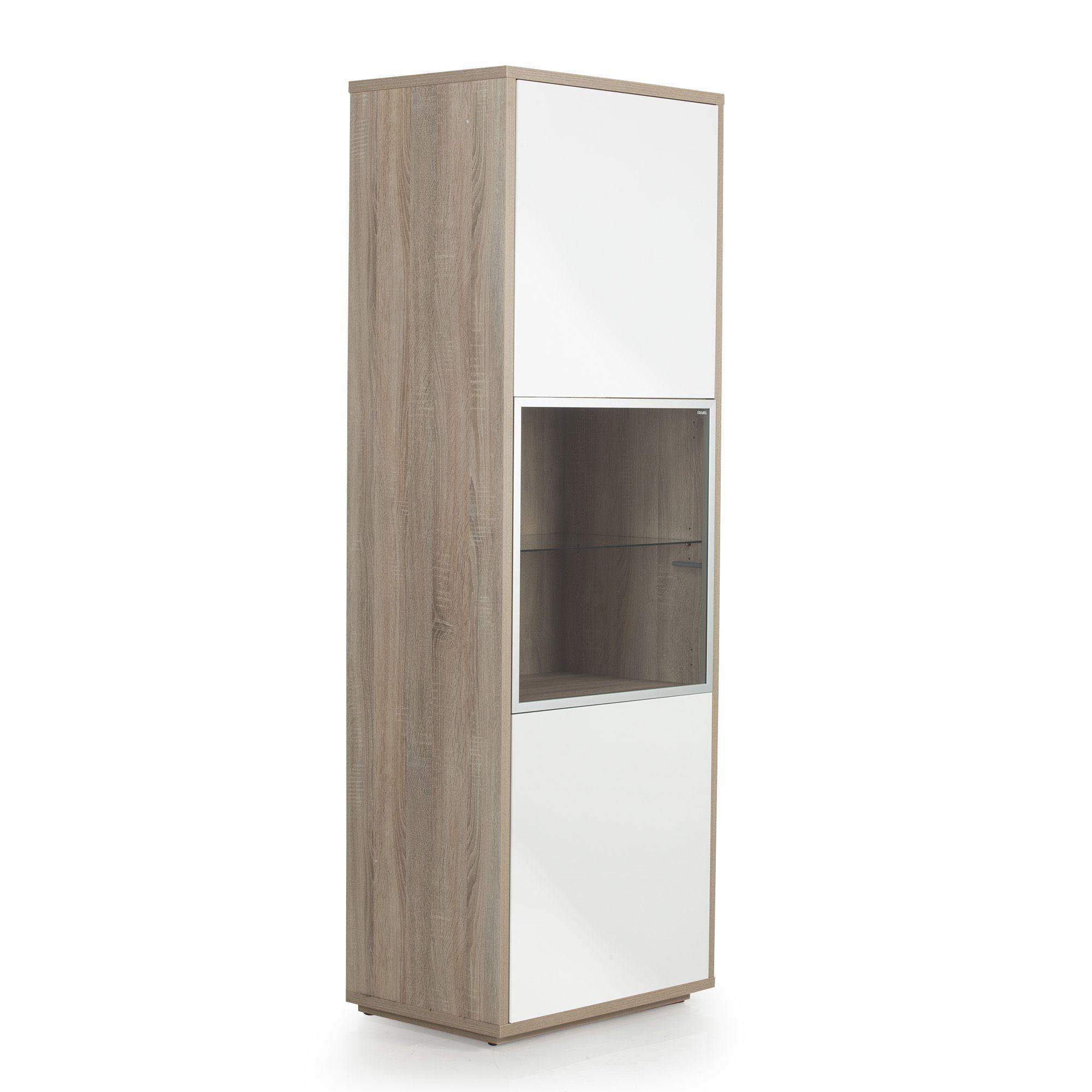 meuble colonne fixer au mur portes imitation chneblanc checker les with etagere stockholm maison. Black Bedroom Furniture Sets. Home Design Ideas