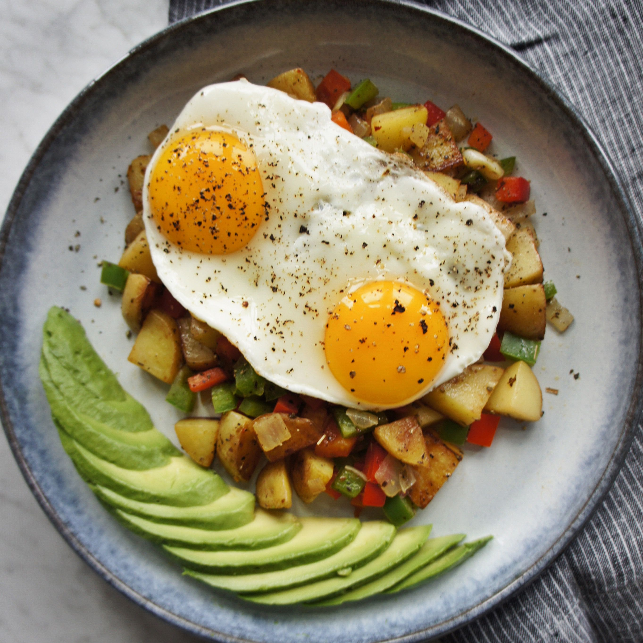 Healthy breakfast hash the greedy belly only 238