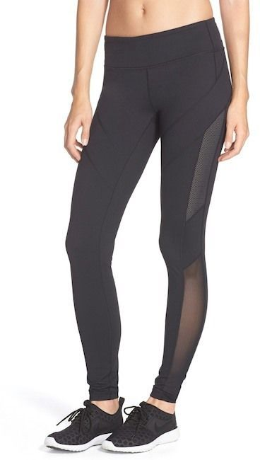 a26426bccd442 Zella | Live In Mesh Inset Leggings | Products | Zella live in ...