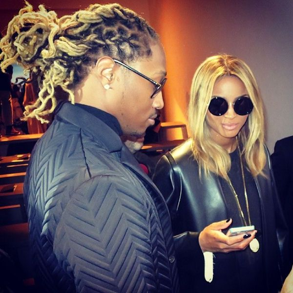 Future And Ciara Blonde Dreads Dread Hairstyles Baby Hairstyles