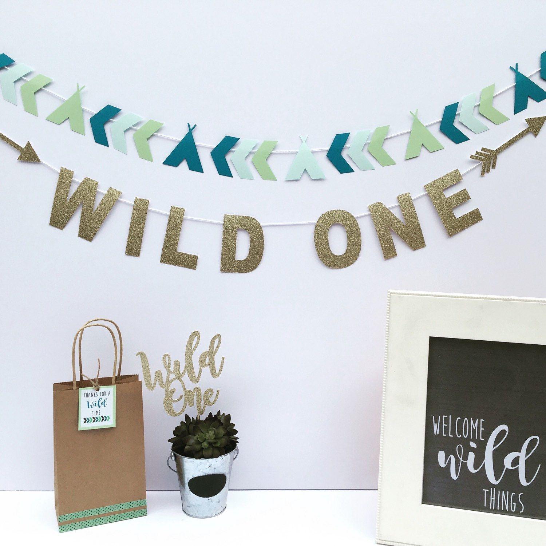 Wild One birthday party decor