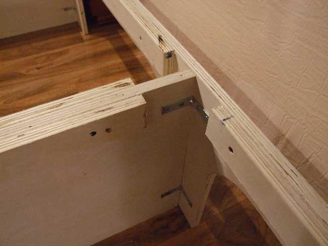 Awesome Plywood Platform Storage Bed Plans