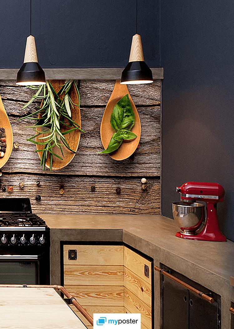Küchenrückwand alu dibond  Individuelle Küchendeko: Maßgeschneiderte Küchenrückwand auf ...