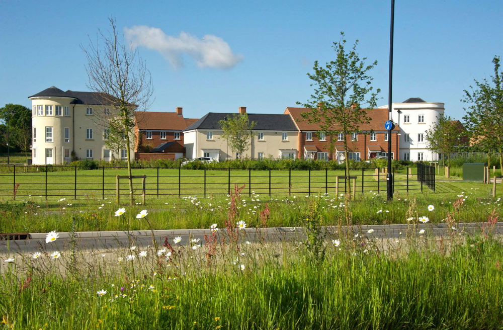 New Housing At Berewood Waterlooville Hampshire Adam Architecture Types Of Houses Simple Building