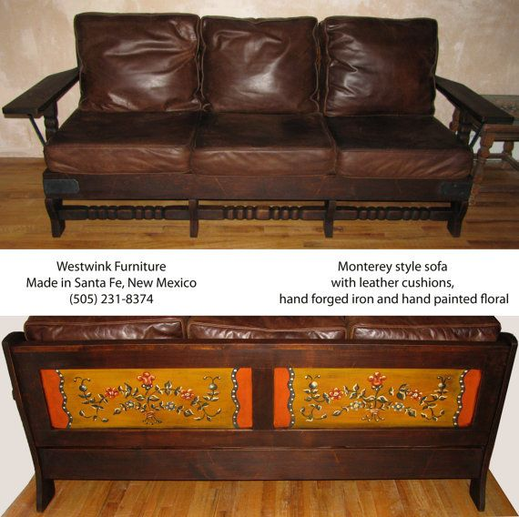 Monterey Antique Style Sofa By Westwink Furniture In Santa