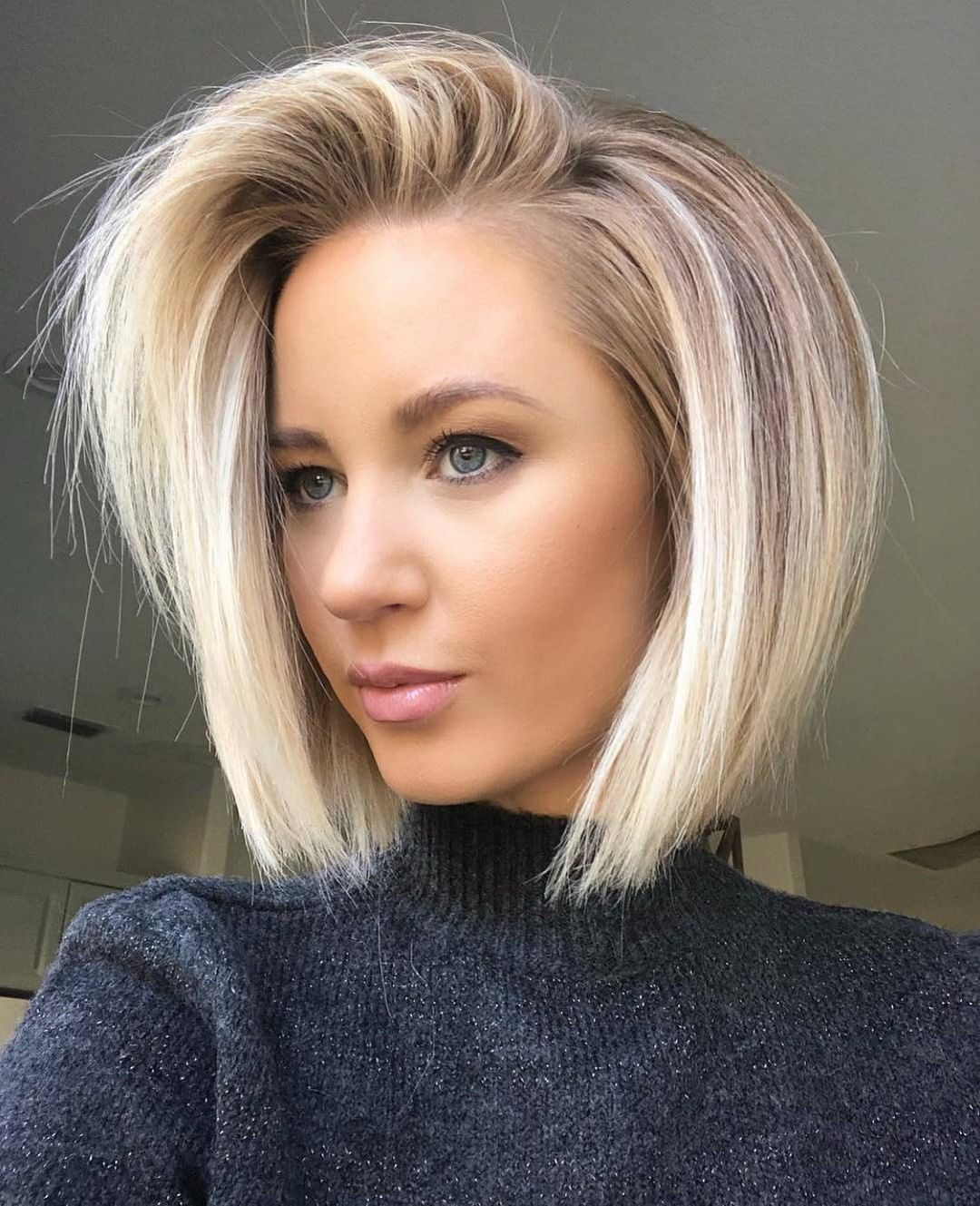American Salon On Instagram Who Loves A Bob Hair Hairandbeautybyjen December Instagram S 1 And Facebook Hair Styles Thick Hair Styles Bob Hairstyles