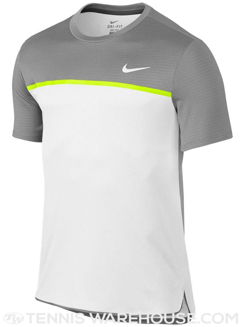 7cf36921e8642 Nike Men s Fall Team Challenger Crew   Camisetas   Nike men, Tennis ...