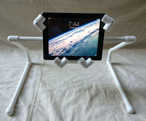 An Ipad Tablet Pvc Stand Anyone Can Make Diy Diy Diy