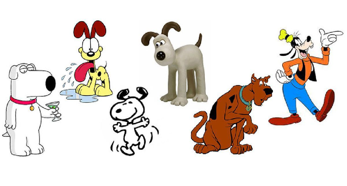 Top 10 Most Famous Cartoon Dogs Toptenz Net Cartoon Dog Famous Dogs Famous Cartoons