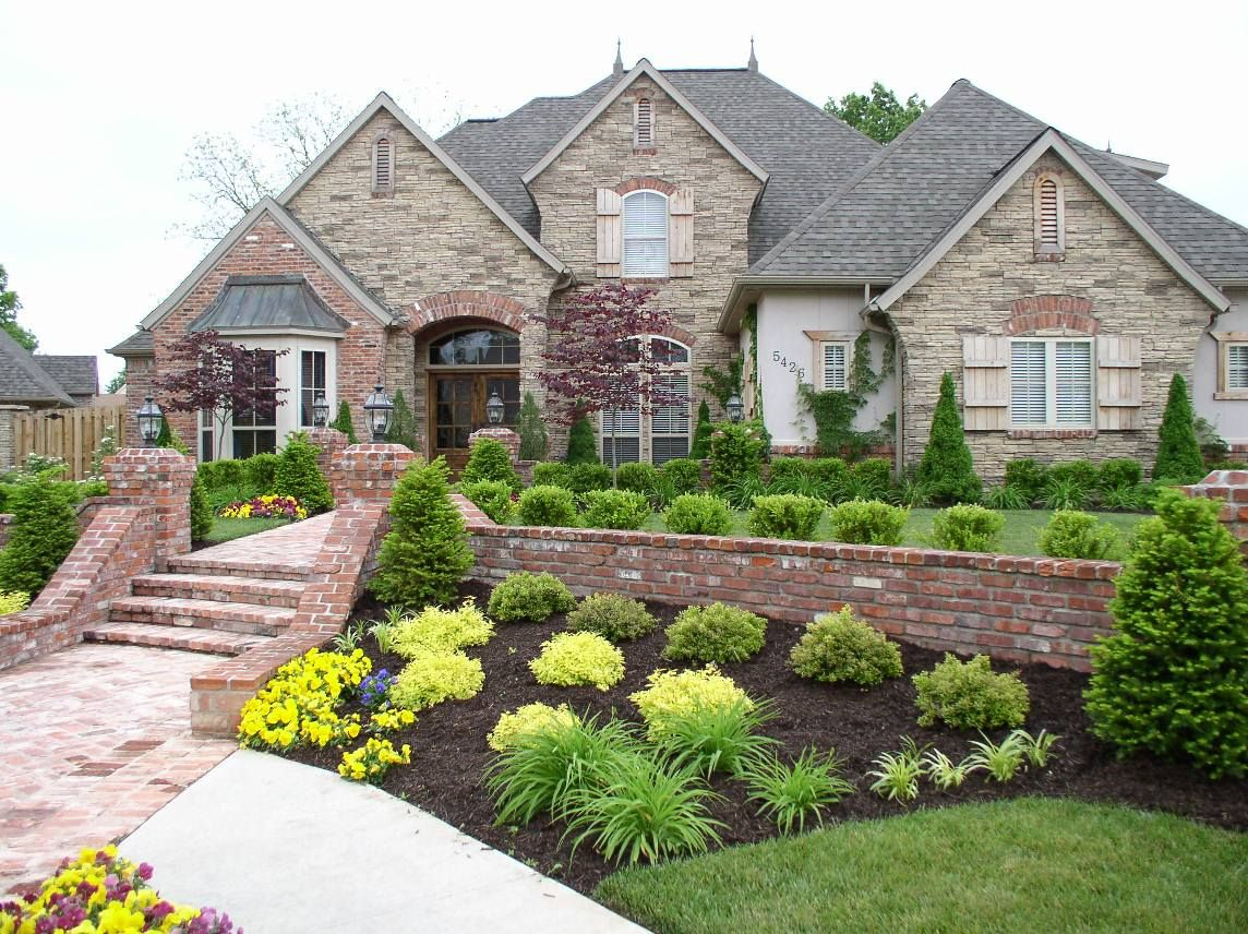 Medium Crop Of Front Step Landscaping Ideas