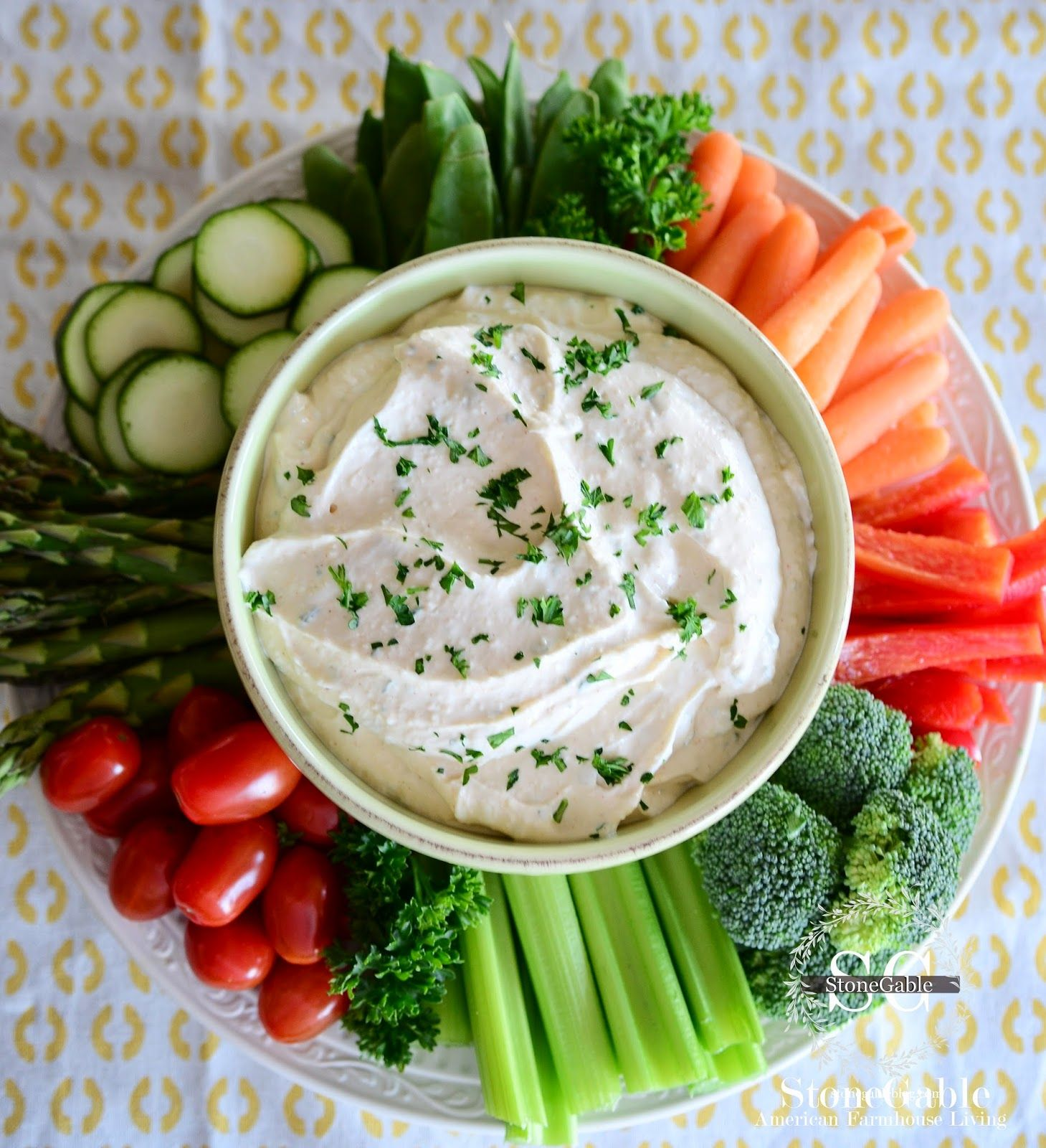 The Dip With Images Sour Cream Veggie Dip Appetizer Recipes Food