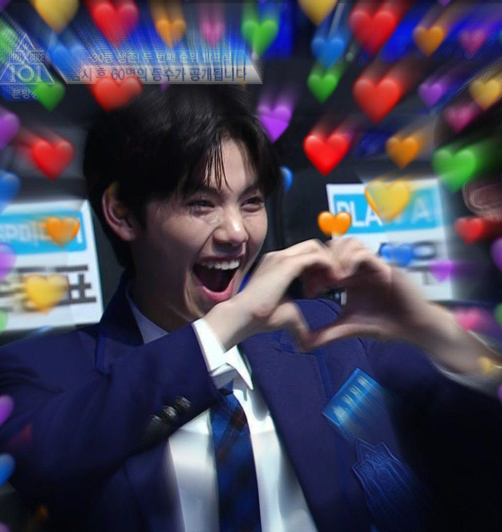 Produce X 101ーX1 memes 🤪👍🏻 in 2020 Cute love memes