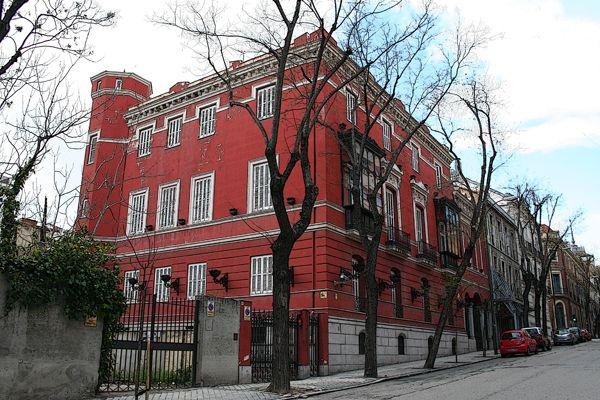 Casa Palacio De Carlos María De Castro Palacios Arquitectura De España Fotos Antiguas Madrid