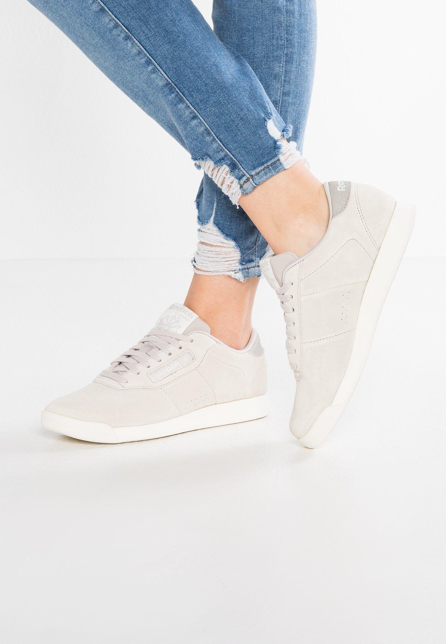 7336c7c36bd7c Reebok Classic PRINCESS WOVEN EMB - Sneakers - sandstone chalk - Zalando.se