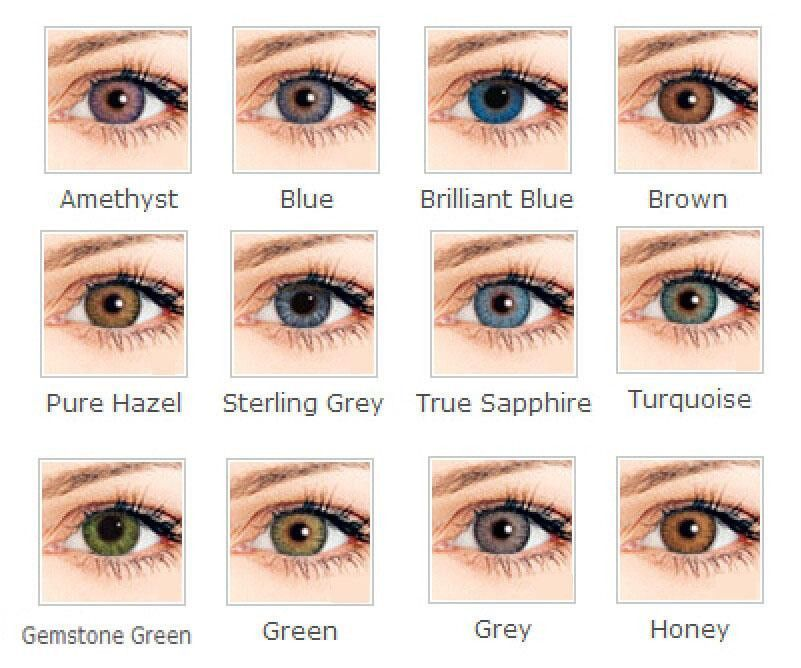 Colorful 6 Colors In Stock Eye Contact Lenses Cosmetic Contact Lenses 14 5mm Cosmetic Contact Lenses Cheap Contact Lenses Eye Contact Lenses