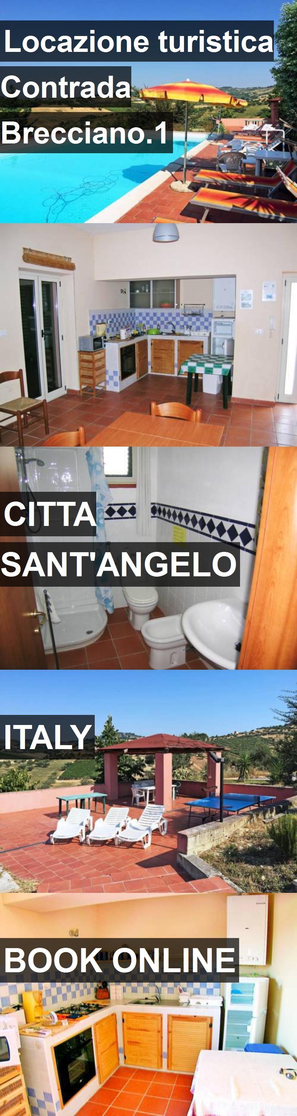 Hotel Locazione turistica Contrada Brecciano.1 in Citta