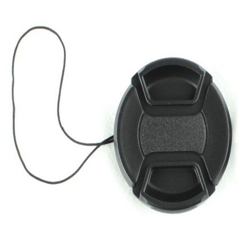 Aliexpress.com: Compre Universal Camera Lens Cap capa de proteção 58 cm tampa da lente fornecer escolher com Anti perdida corda frete grátis de confiança snap relógio fornecedores em Sunshine&Air