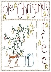 Ole Christmas Tree Sampler - 5x7   Christmas   Machine Embroidery Designs   SWAKembroidery.com Homeberries Designs