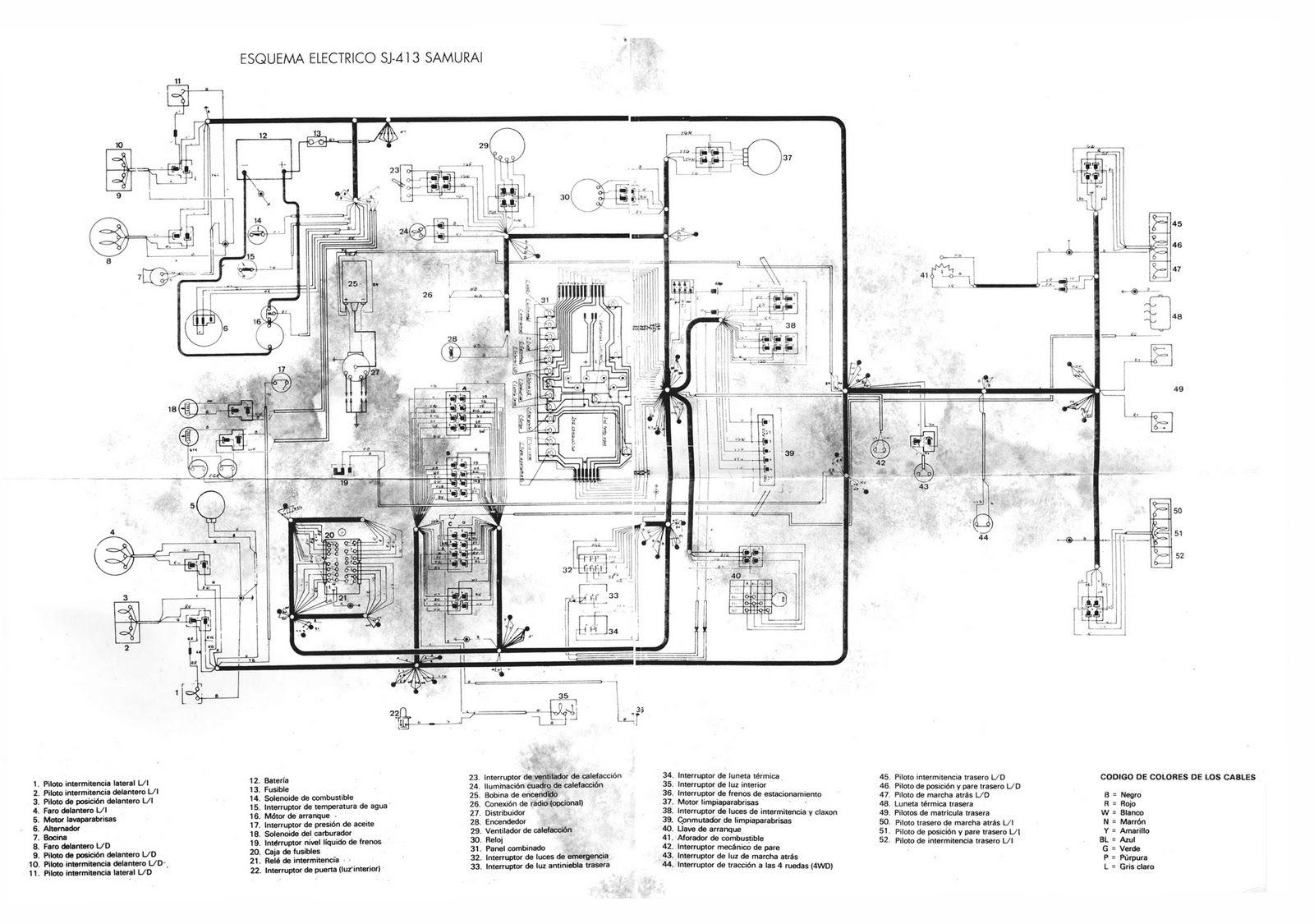 96 Suzuki Samurai Engine Diagram - Wiring Diagram Networks