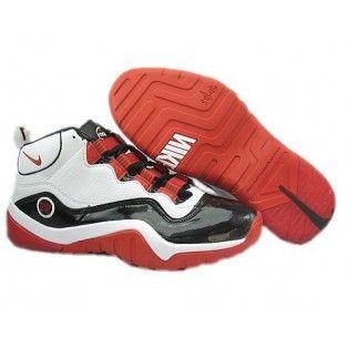 Acción de gracias Patrocinar Reunión  Nike Zoom Phenom Basketball Shoes White Black Red   Nike basketball shoes,  Nike, Basketball shoes