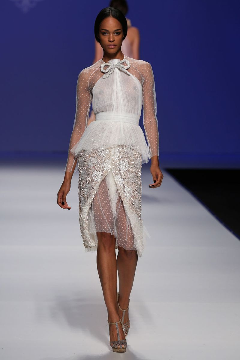 Best wedding dresses for short waisted  The Best Short Wedding Dresses From Fall  Bridal Week  Its All