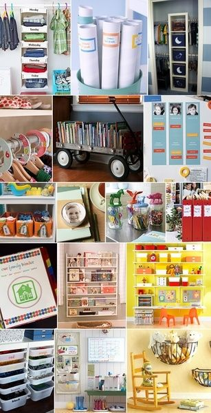 Craft Room Organizing Ideas: I love the idea of using peg board to organize fabric. Much neater than digging through a bin to find the scrap of fabric you want. Great site for reorganizing the sewing room!
