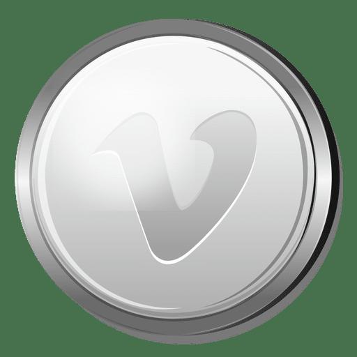 Vimeo Silver Circle Icon Ad Aff Aff Silver Circle Icon Vimeo Icon Graphic Image Abstract Design