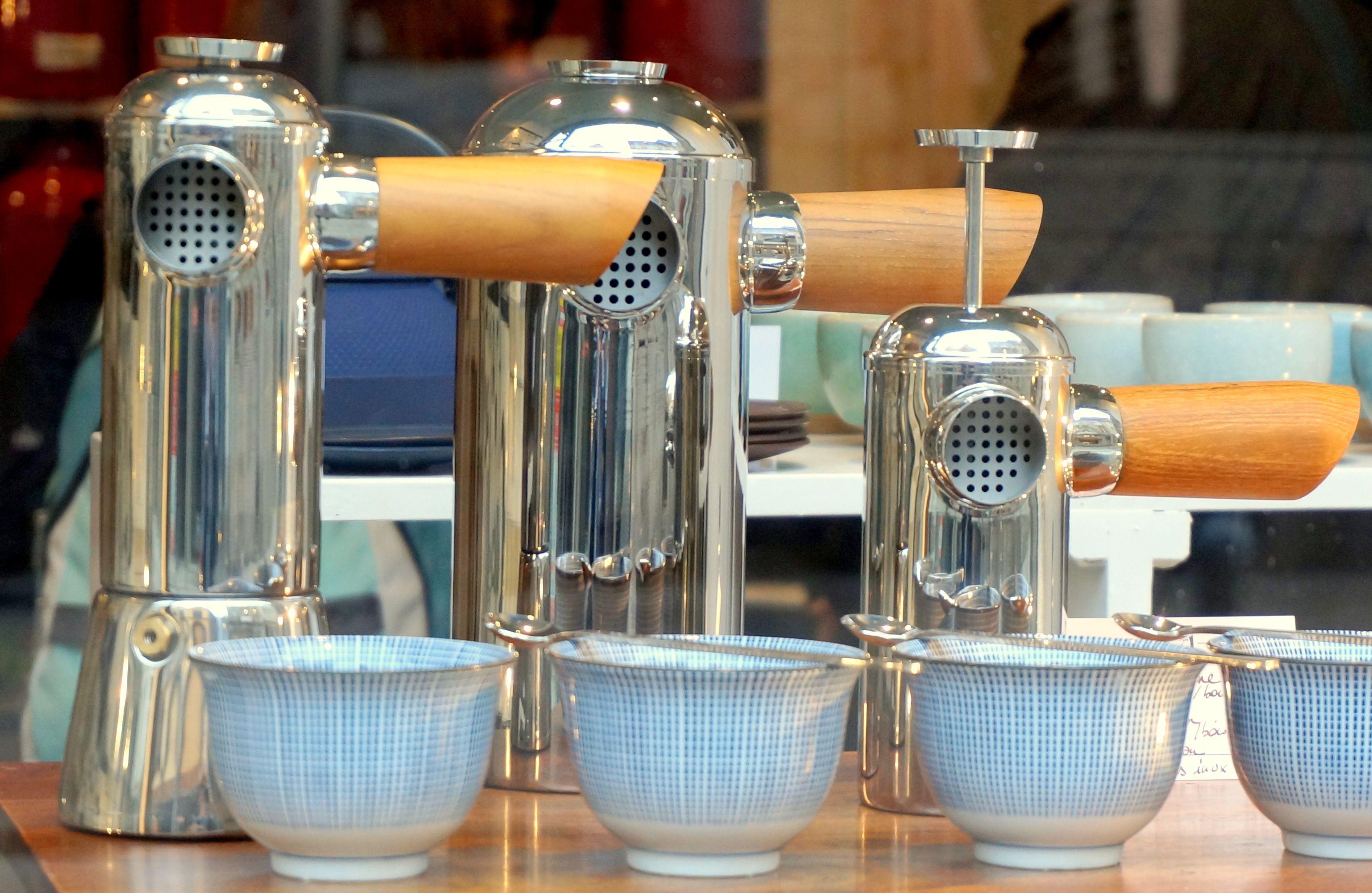 Cafeti Res Piston Et Italienne De La Marque Freud Chez Ellen