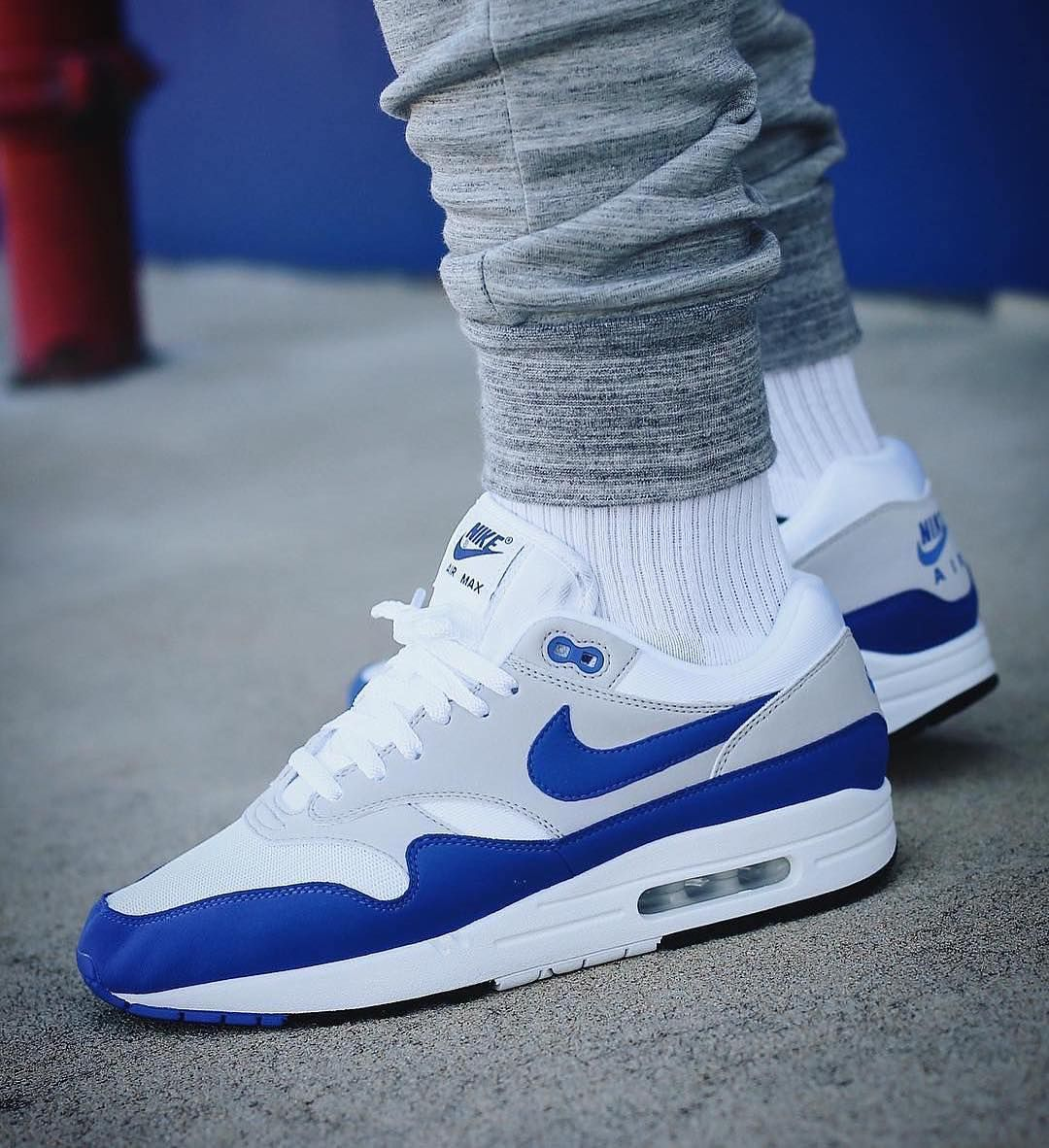 Nike Airmax 1 x OG Blue • These are such a nice colour way I