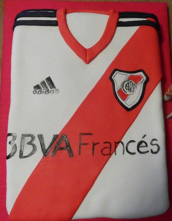 020a2816c Camiseta de River Plate Argentina   Tortas Camisetas   Torta de ...