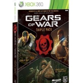Gears Of War Triple Pack Game Xbox 360 Gaming Xbox 360 Games