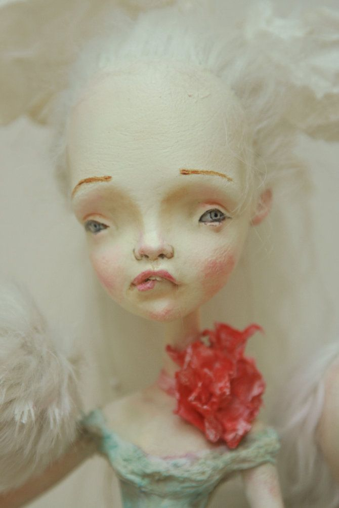 Porcelain dolls sculpted by Sasha Petrova