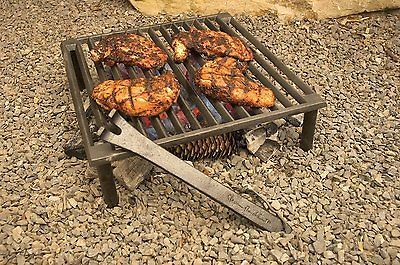 Outdoor Barbecue Grill Cast Iron Bbq Camping Fire Camp Cooking Grate Portable Campfire Grill Tuscan Grill Tuscan Fireplace