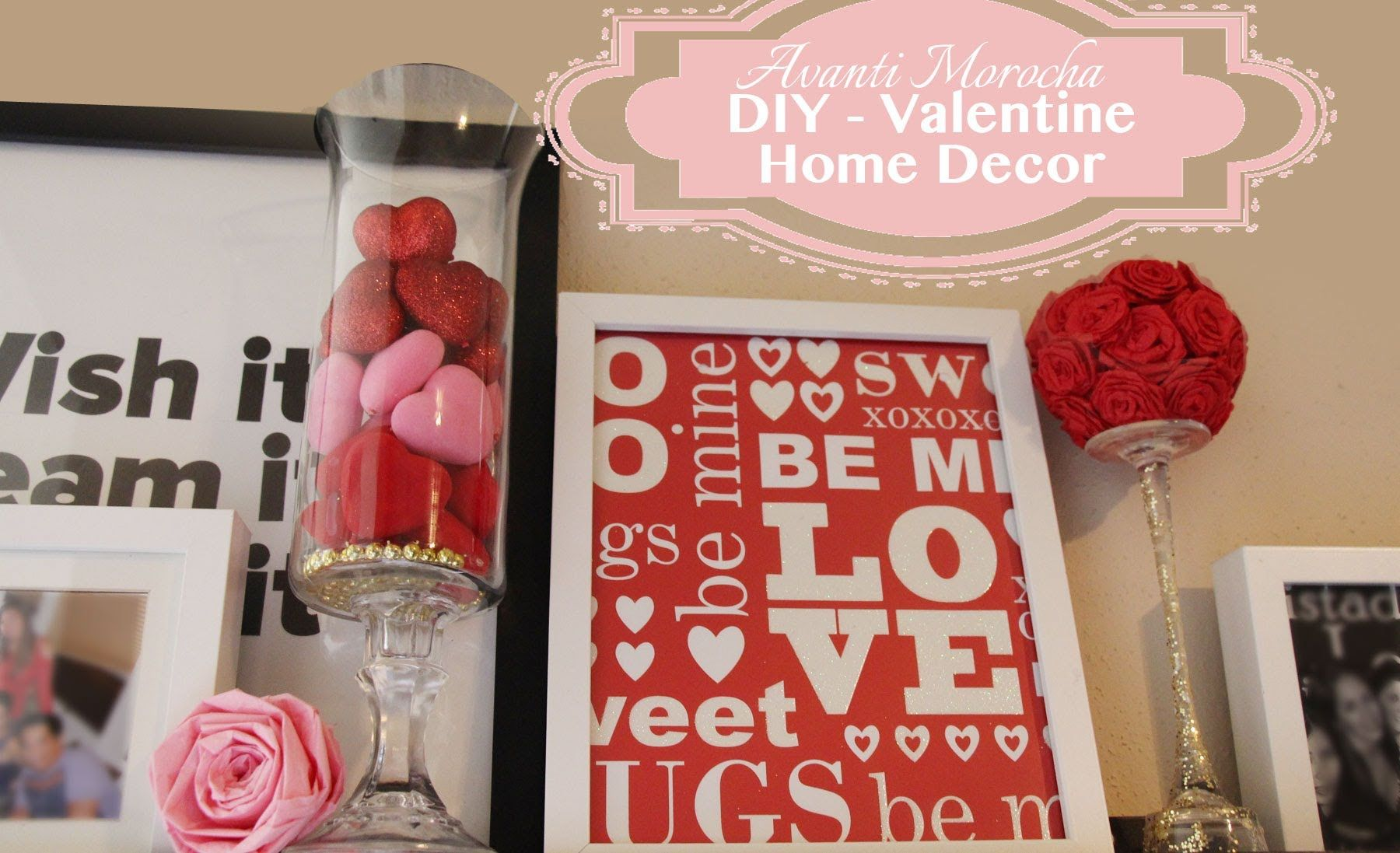 High Quality Valentine Home Decor Diy   Google Search