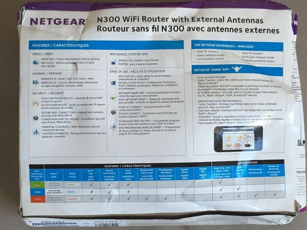 Netgear n300 wnr2020 wireless router wnr2020200pas