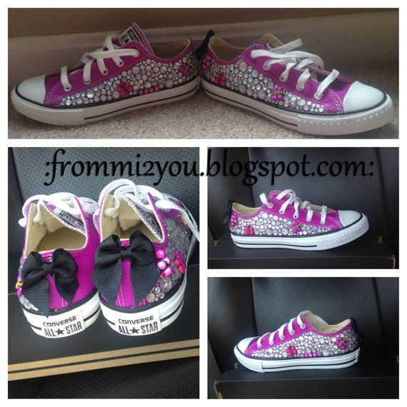 Bling Junk Chuck's Kids by FromMiToYou on Etsy, $75.00