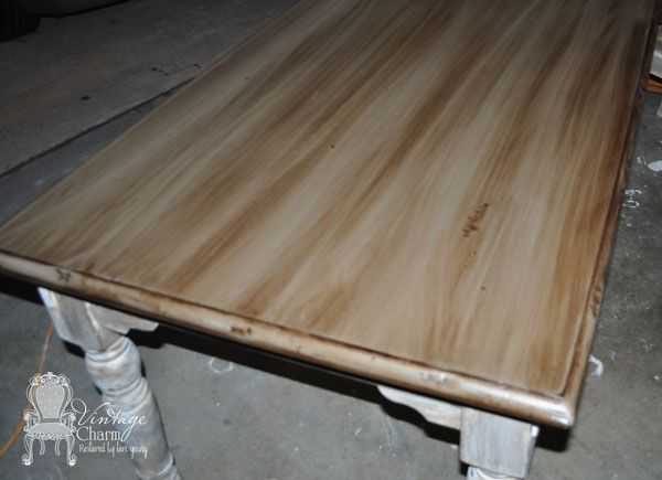 Staining Over Chalk Painted Surfaces