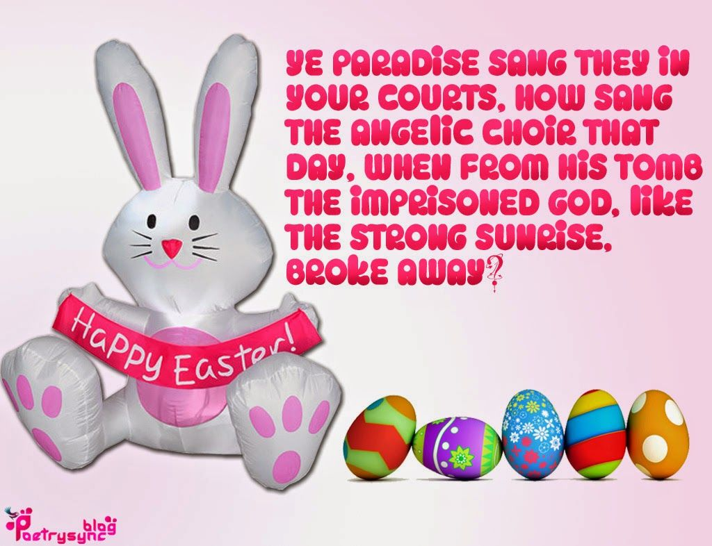 Happy easter day quote image easter pinterest happy easter easter greeting kristyandbryce Choice Image