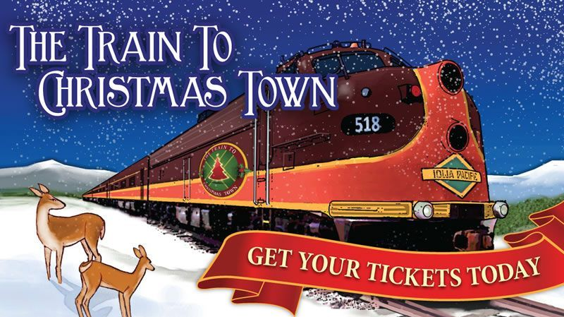 a train to christmas town - Train To Christmas Town