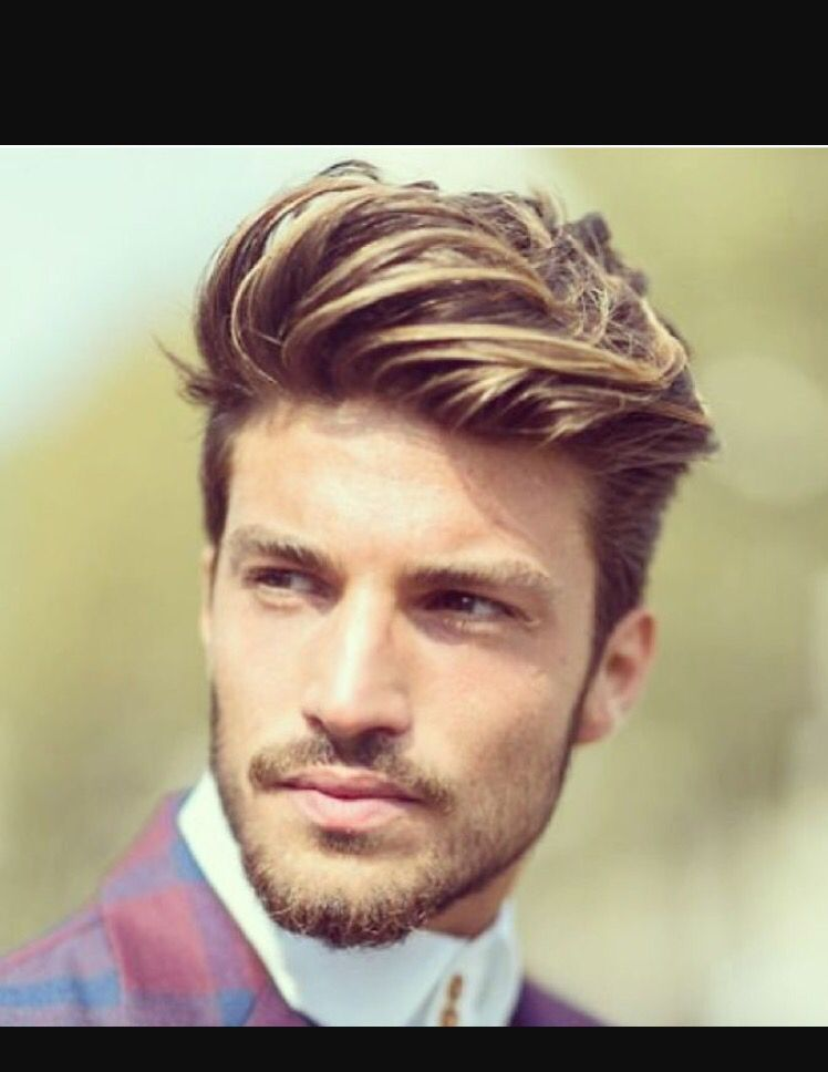 Men S Cut With Disconnected Top In 2019 Mens Hair Colour