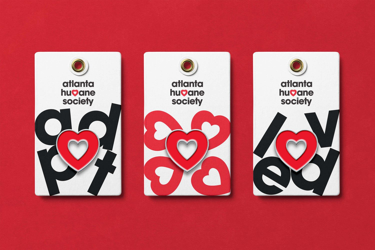 Brand New New Logo And Identity For Atlanta Humane Society By Matchstic Humane Society Humane Society Design Humane Society Fundraiser