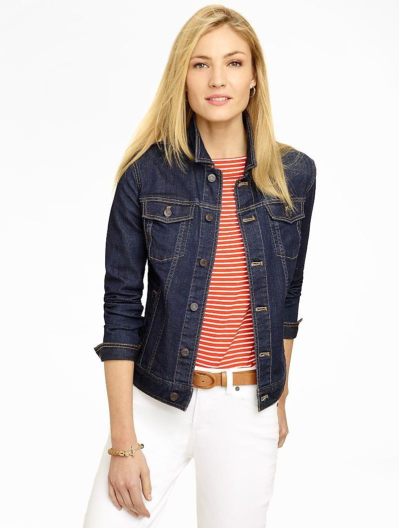 Classic Denim Jacket Varsity Looks Denim Jacket Clothes Clothes For Women [ 1057 x 800 Pixel ]
