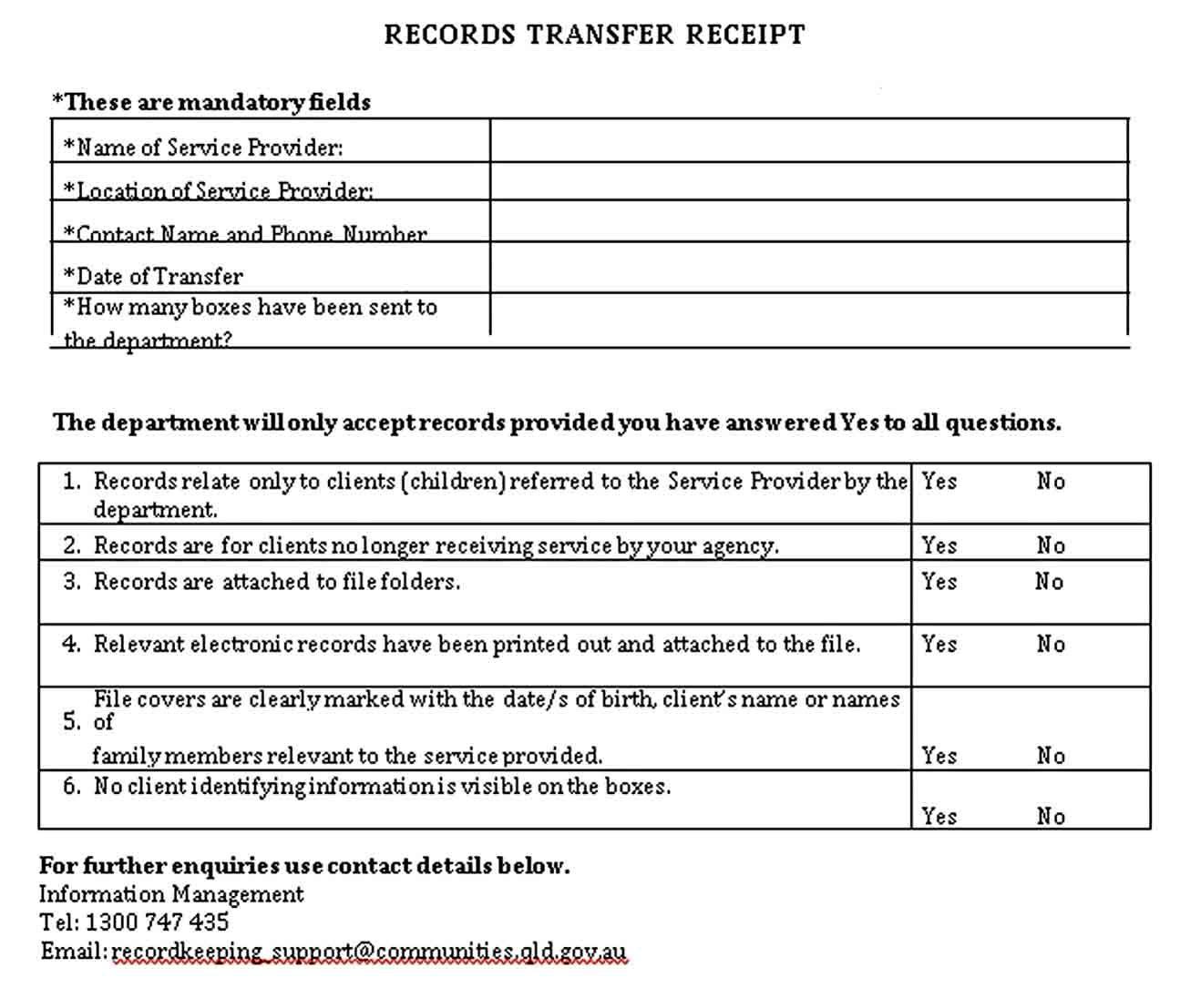 Transfer Receipt Template Receipt Template Business Template Receipt