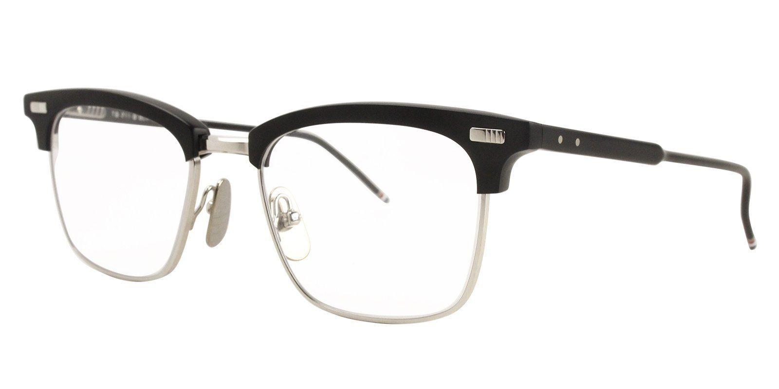 dfd87a155209 Thom Browne - TB711B Silver eyeglasses