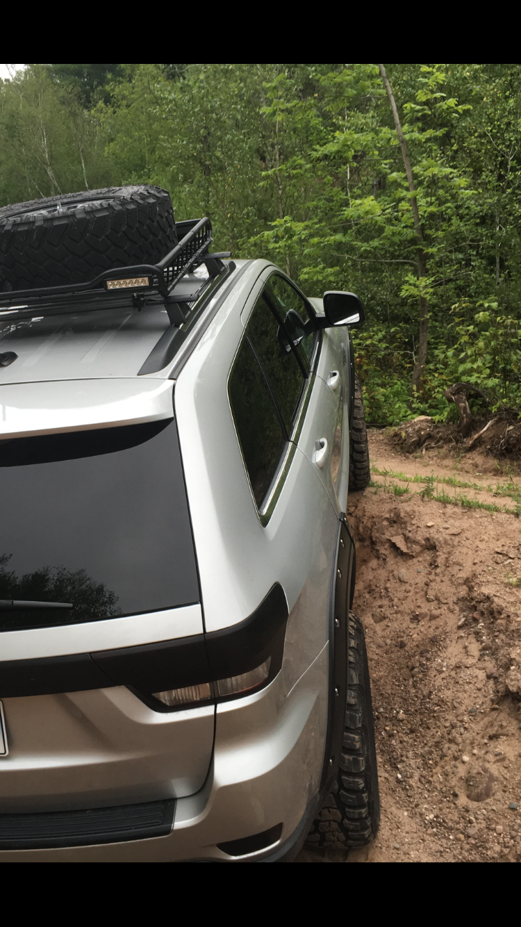 jeep road roof rack