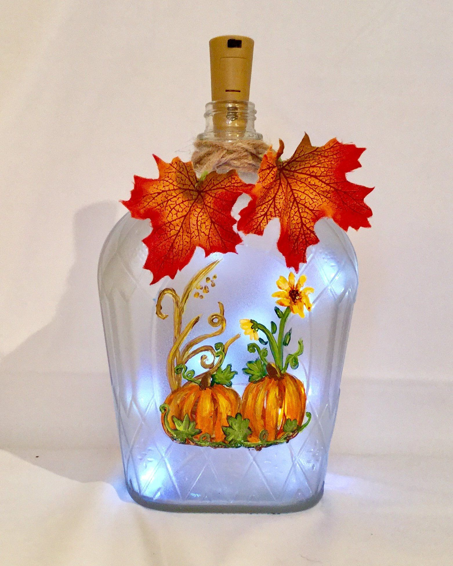 Pin On My Etsy Fall Bottle Lights