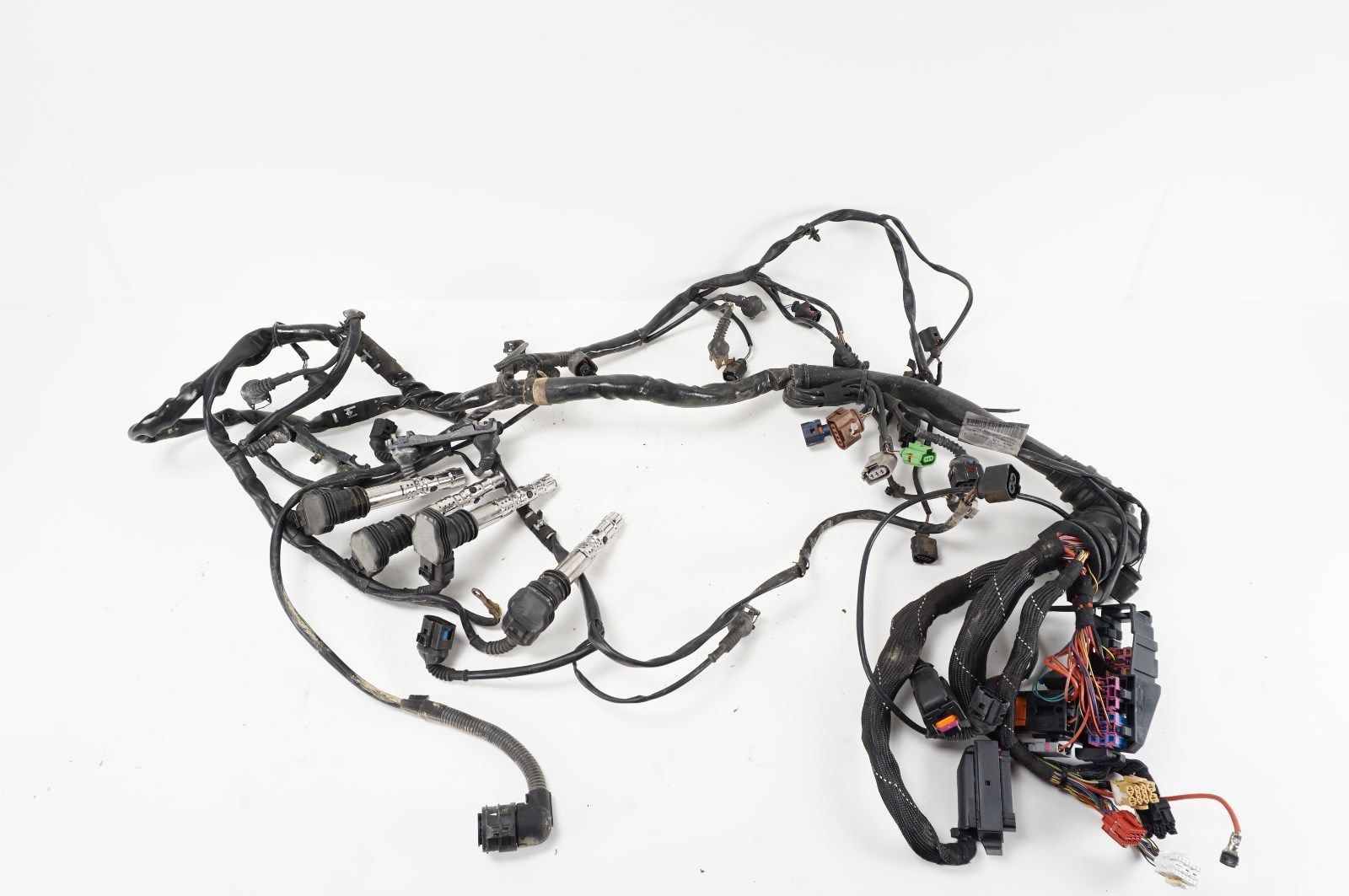 engine wire harness wiring - audi a4 b6 b7